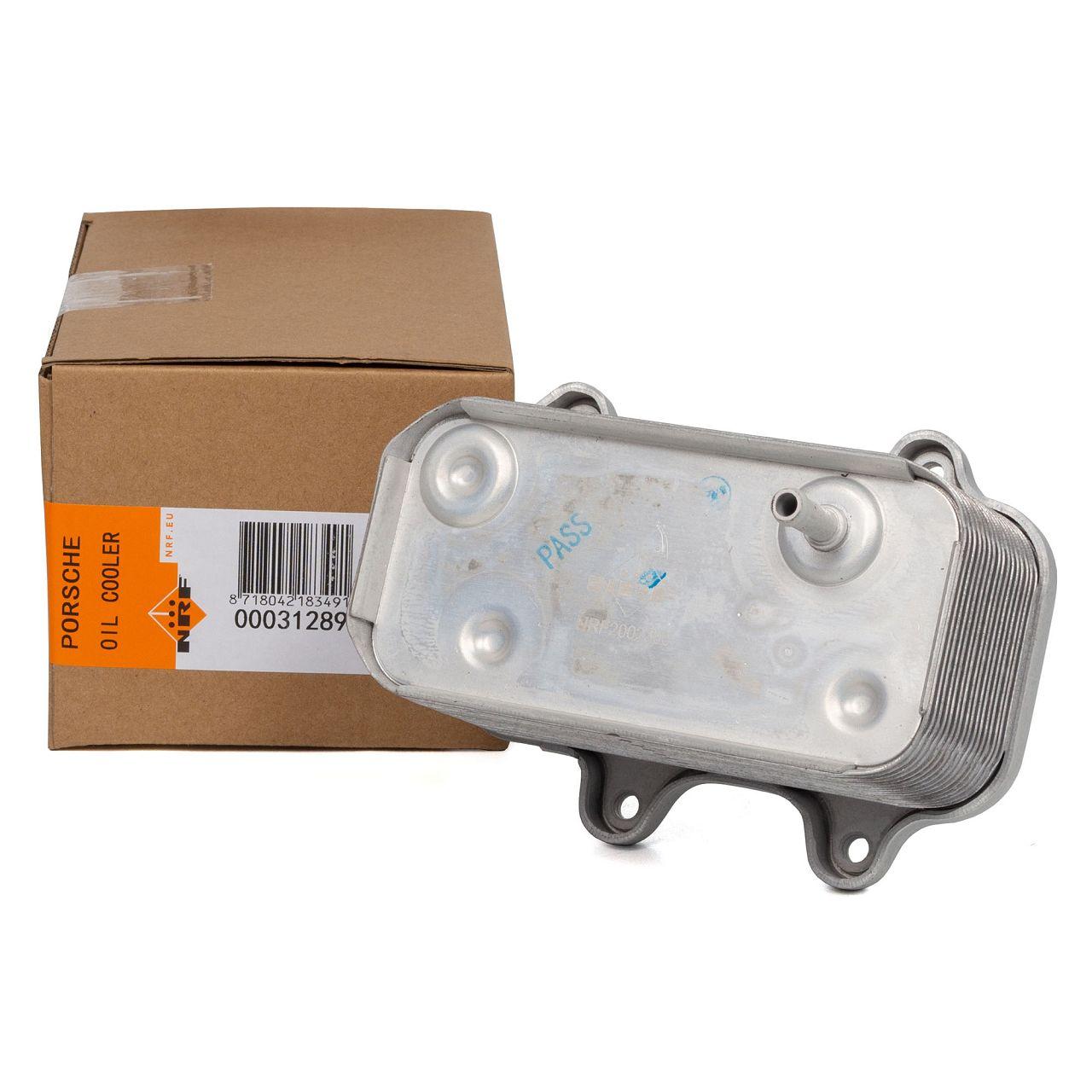 NRF 31289 Ölkühler Motorkühler PORSCHE Boxster 986 2.5 2.7 987 2.7 3.2 99610702507