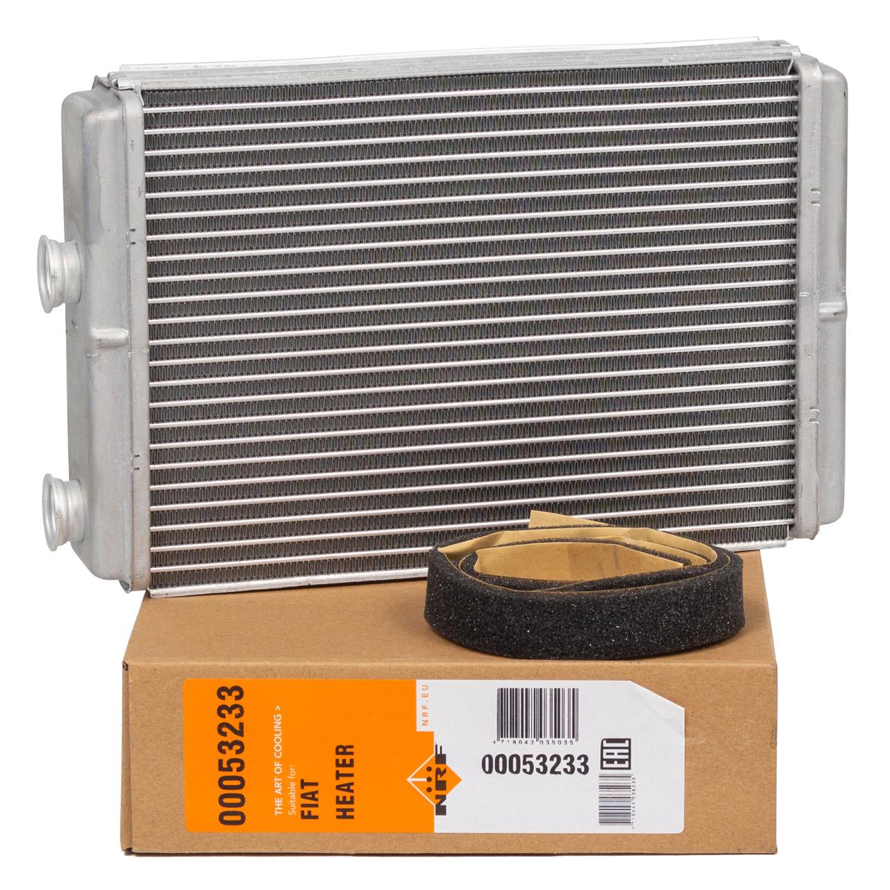NRF 53233 Wärmetauscher Innenraumheizung für FIAT Doblo 119 Idea 350 Punto 188 46722928