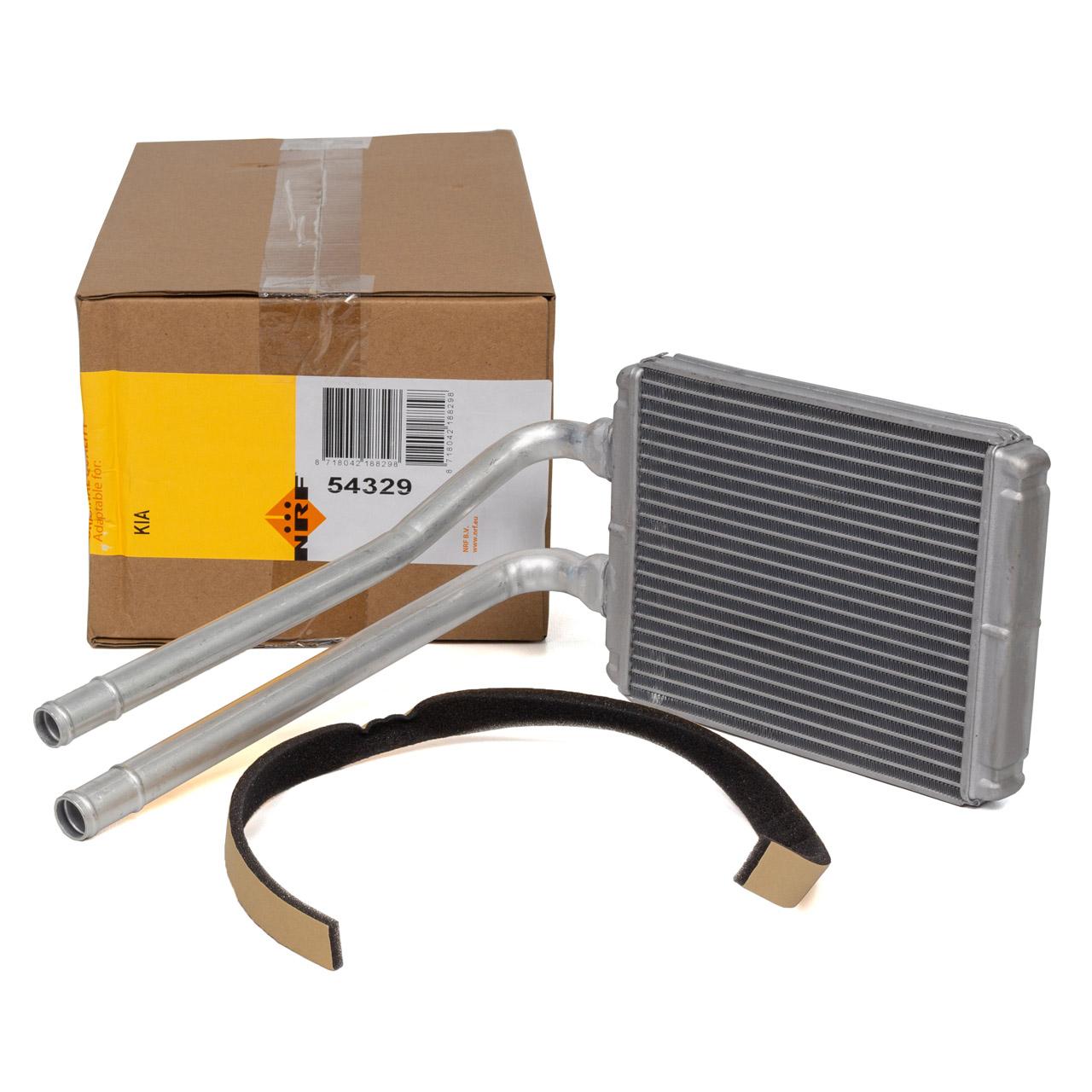 NRF 54329 Wärmetauscher EASYFIT KIA Picanto SA 1.0 1.1 bis Baujahr 08.2007 9713807000