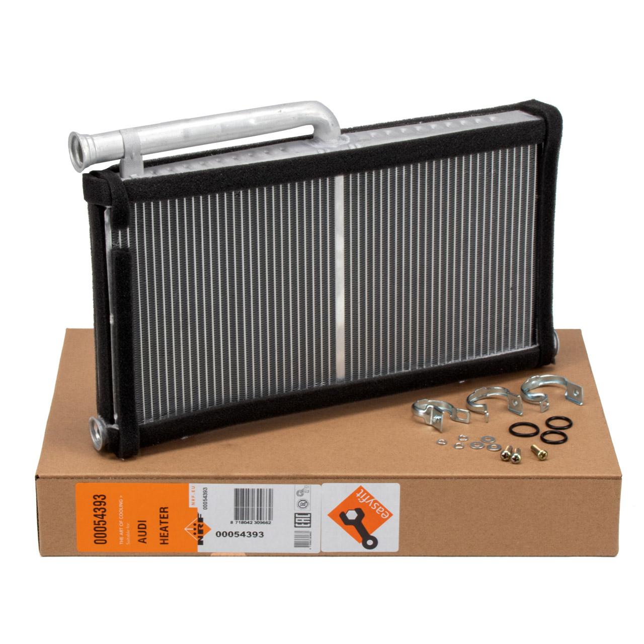 NRF 54393 Wärmetauscher Heizung EASY FIT AUDI A6 C6 ohne elektr. Zusatzheizung 4F0820031A