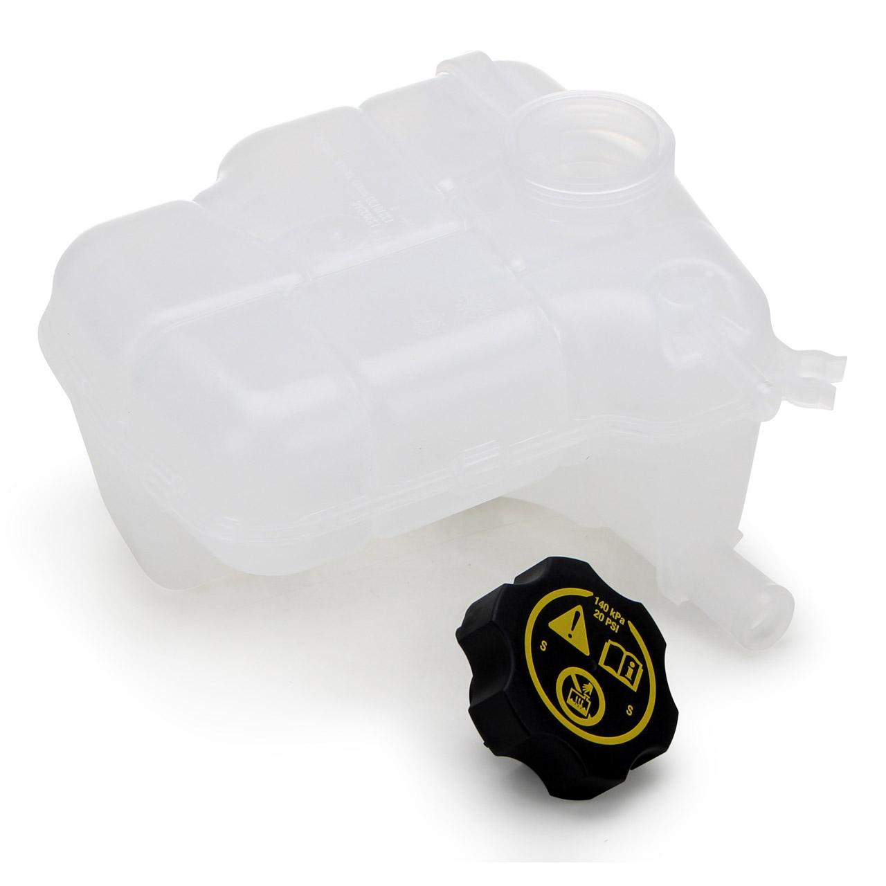 Ausgleichsbehälter + Sensor + Verschlussdeckel OPEL Astra H J Cascada