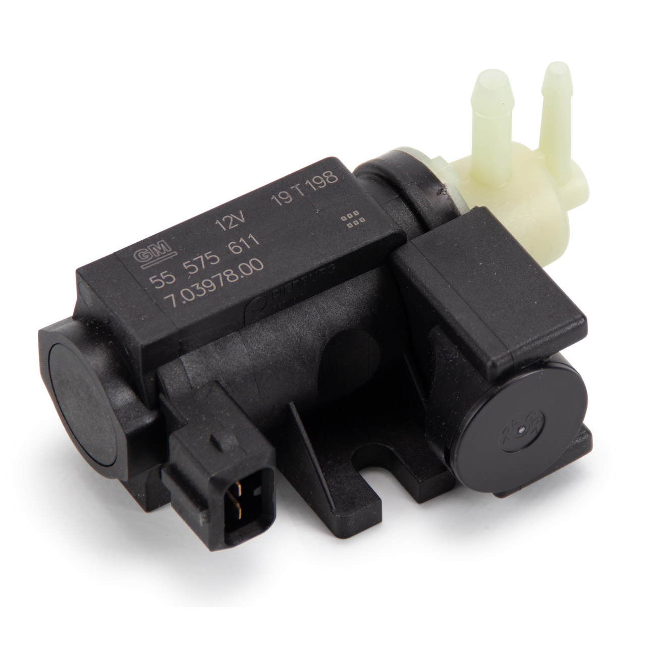Unterdrucksensor Druckwandler Magnetventil Turbolader für OPEL Astra H J Insignia 55575611