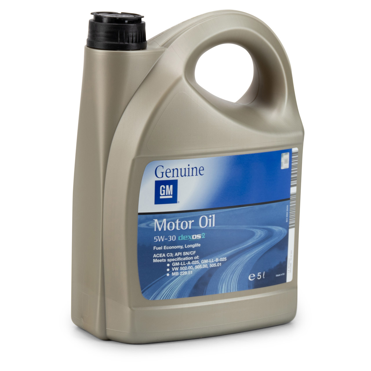 ORIGINAL GM Opel Motoröl Öl 5W-30 5W30 dexos2 LONGLIFE 5 Liter 1942003 93165557