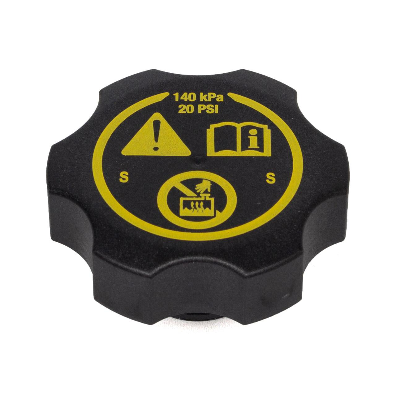 Kühlerdeckel Verschlussdeckel Kühlmittelbehälter für OPEL Adam Astra H J Corsa D 13502353