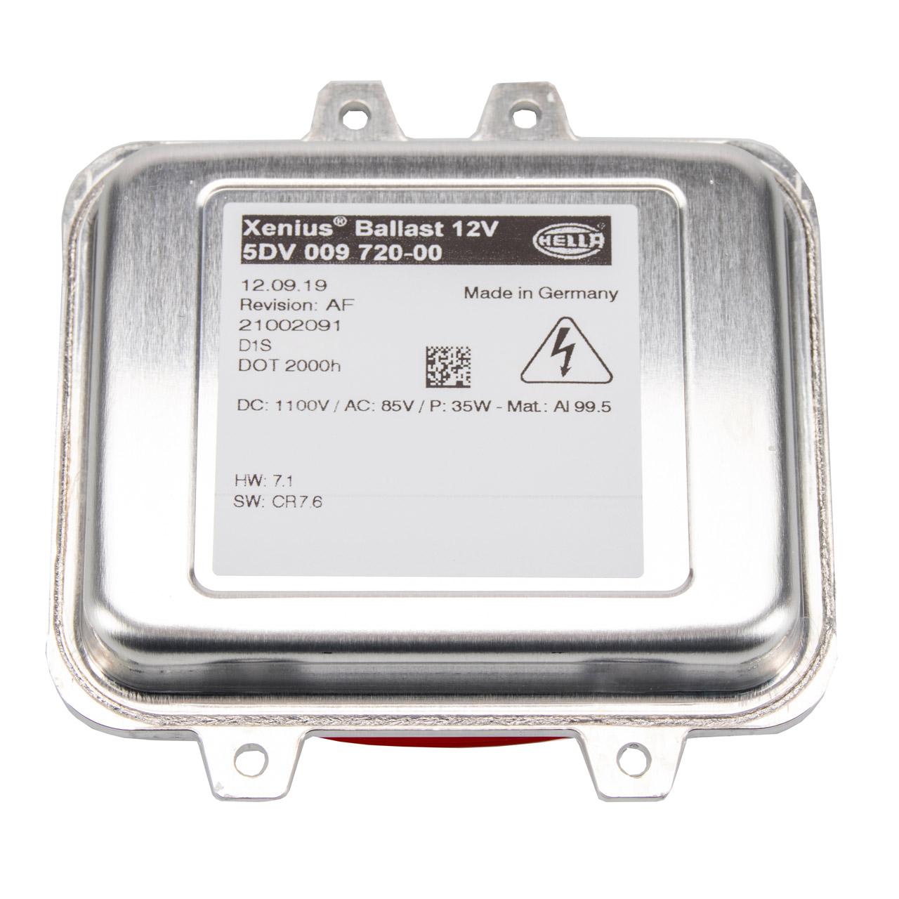 Steuergerät Xenon Vorschaltgerät OPEL Astra J Insignia A 13278005