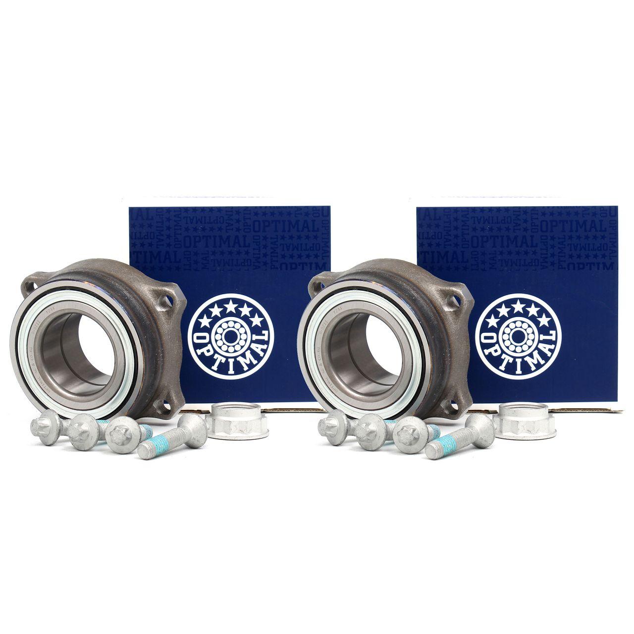 2x OPTIMAL Radlagersatz MERCEDES W204 W211 W212 W221 vorne / hinten 2119810227