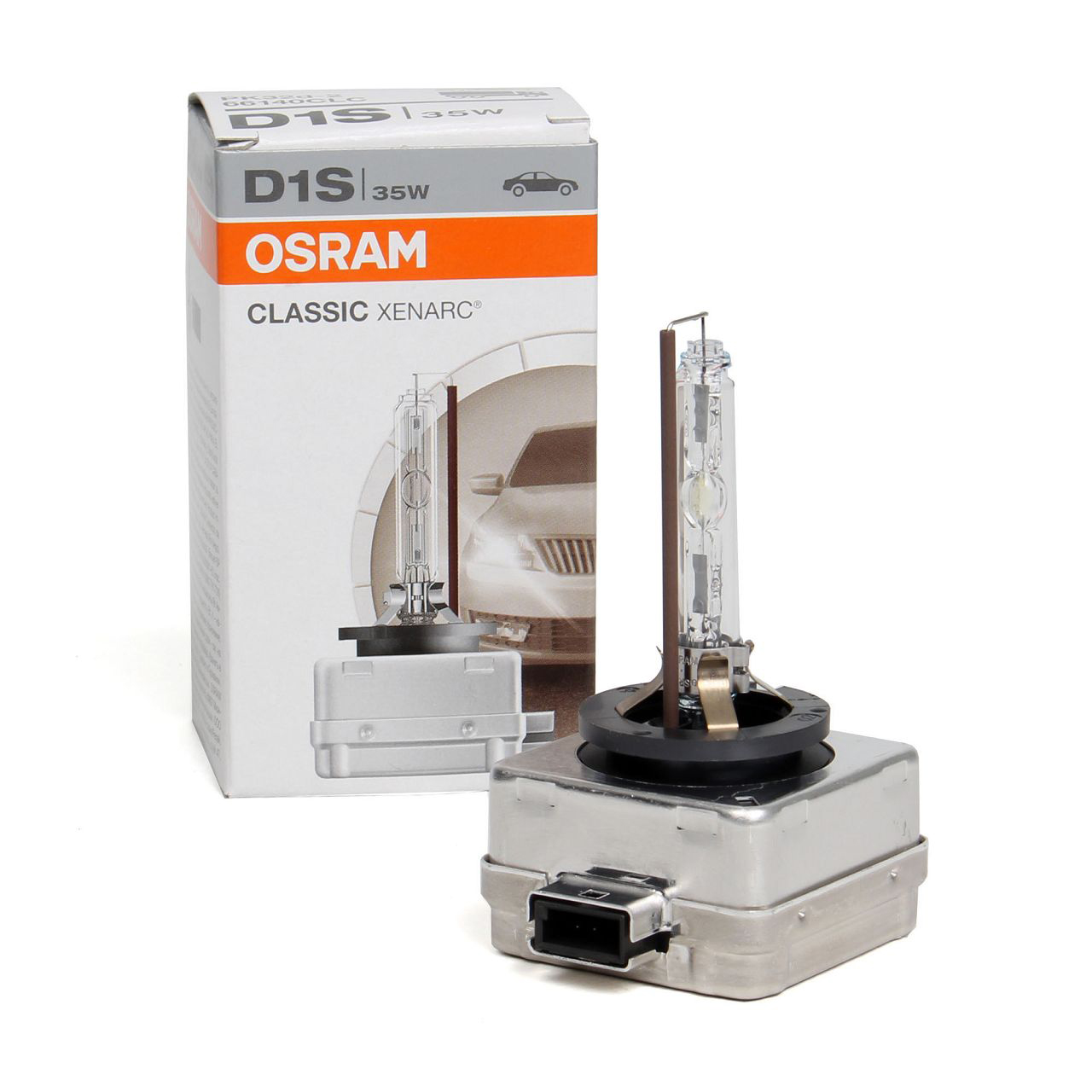 OSRAM 66140CLC Xenarc Xenon Brenner Lampe D1S CLASSIC 85V 35W PK32d-2