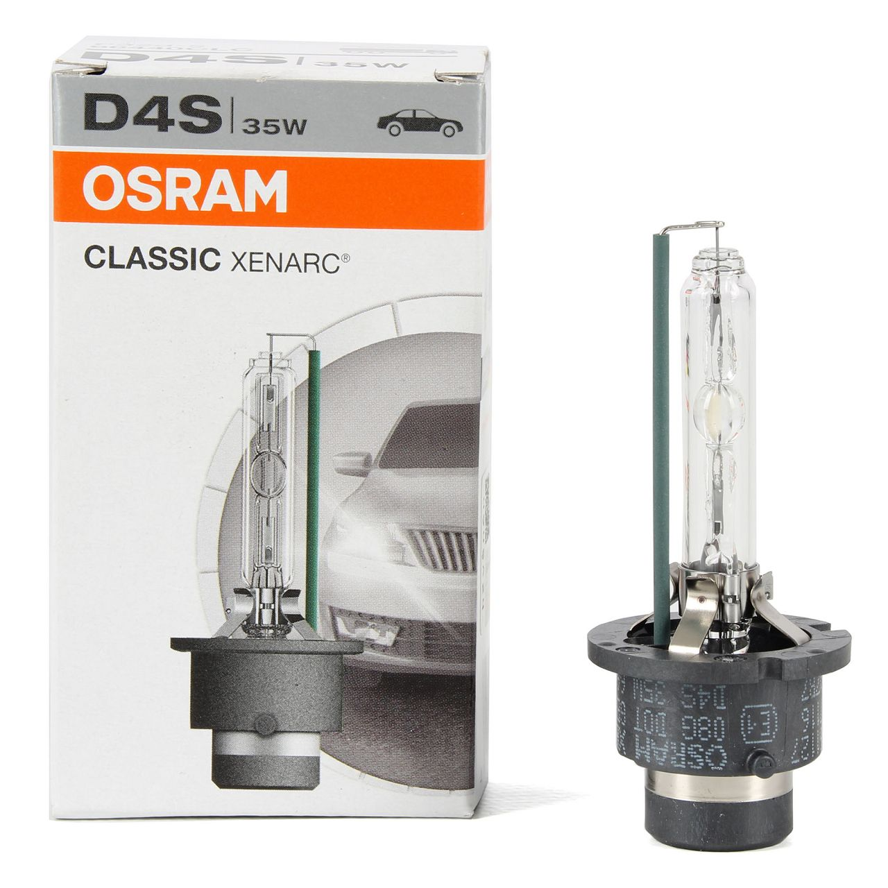 OSRAM Xenon Brenner Lampe CLASSIC XENARC D4S 42V 35W P32d-5 66440CLC