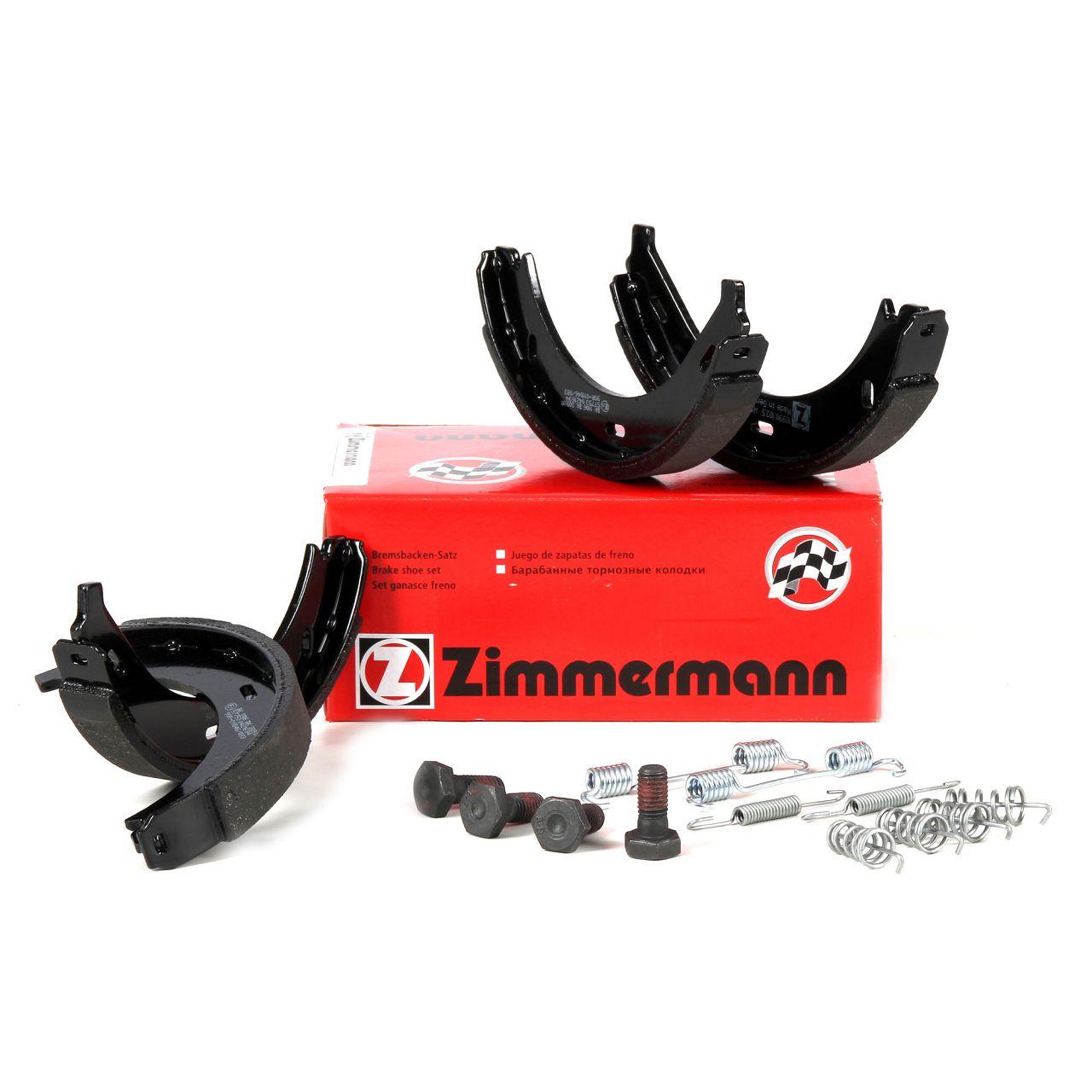 ZIMMERMANN Bremsbacken inkl. Federn für Mercedes V-Klasse Vito W638 BOSCH-System