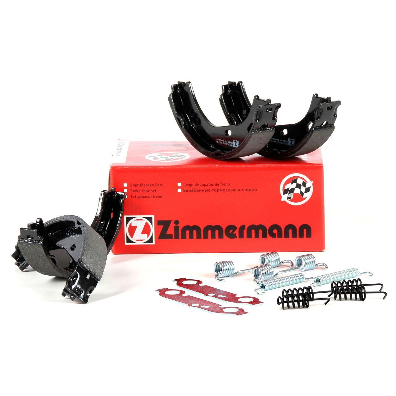 ZIMMERMANN Bremsbacken inkl. Federn für Mercedes W114 W115 W111 W123 W116 W126