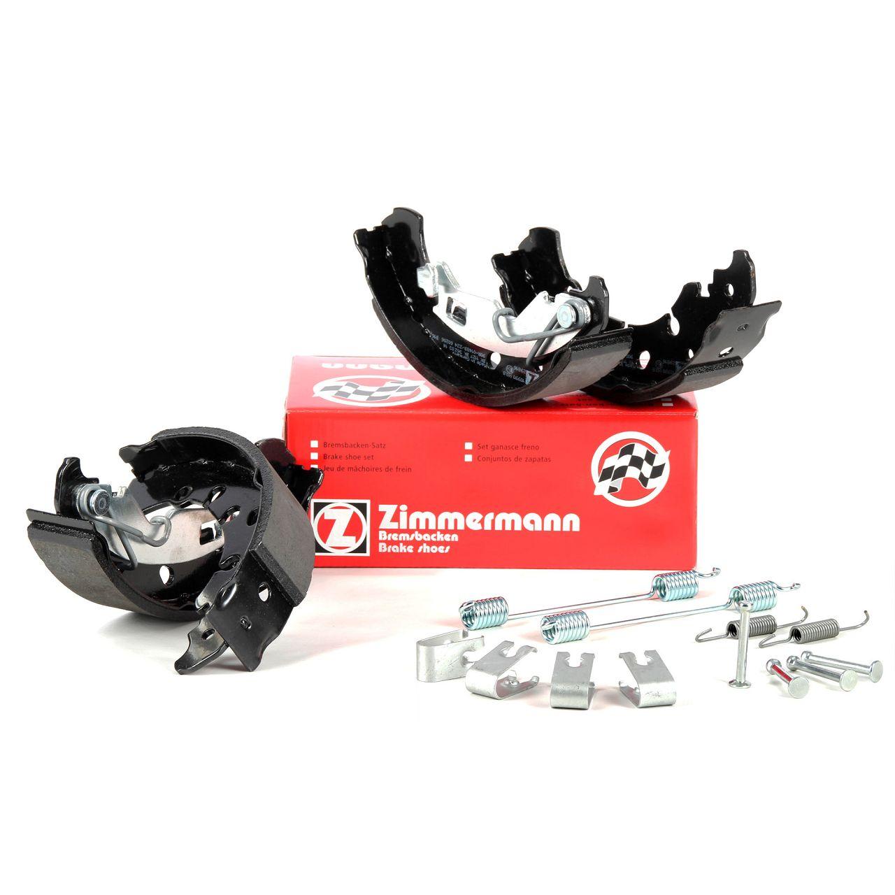 ZIMMERMANN Bremsbacken + Federn Satz FIAT Grande / Punto / Evo199 1.4 1.3D