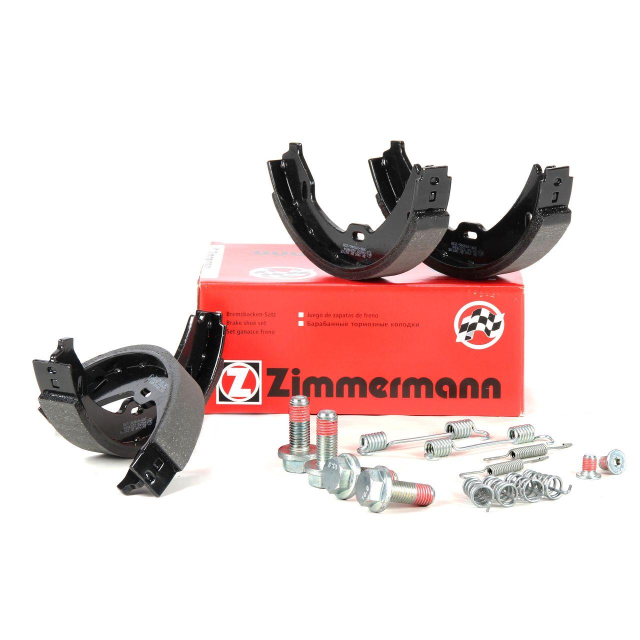 ZIMMERMANN Bremsbacken inkl. Federn für Mercedes S-Klasse W220 C215 ATE-System