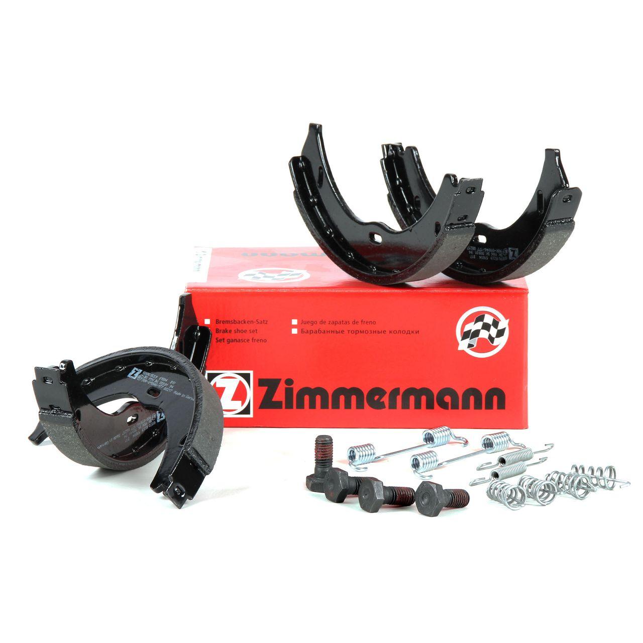 ZIMMERMANN Bremsbacken inkl. Federn für Mercedes Viano Vito W639 BOSCH-System
