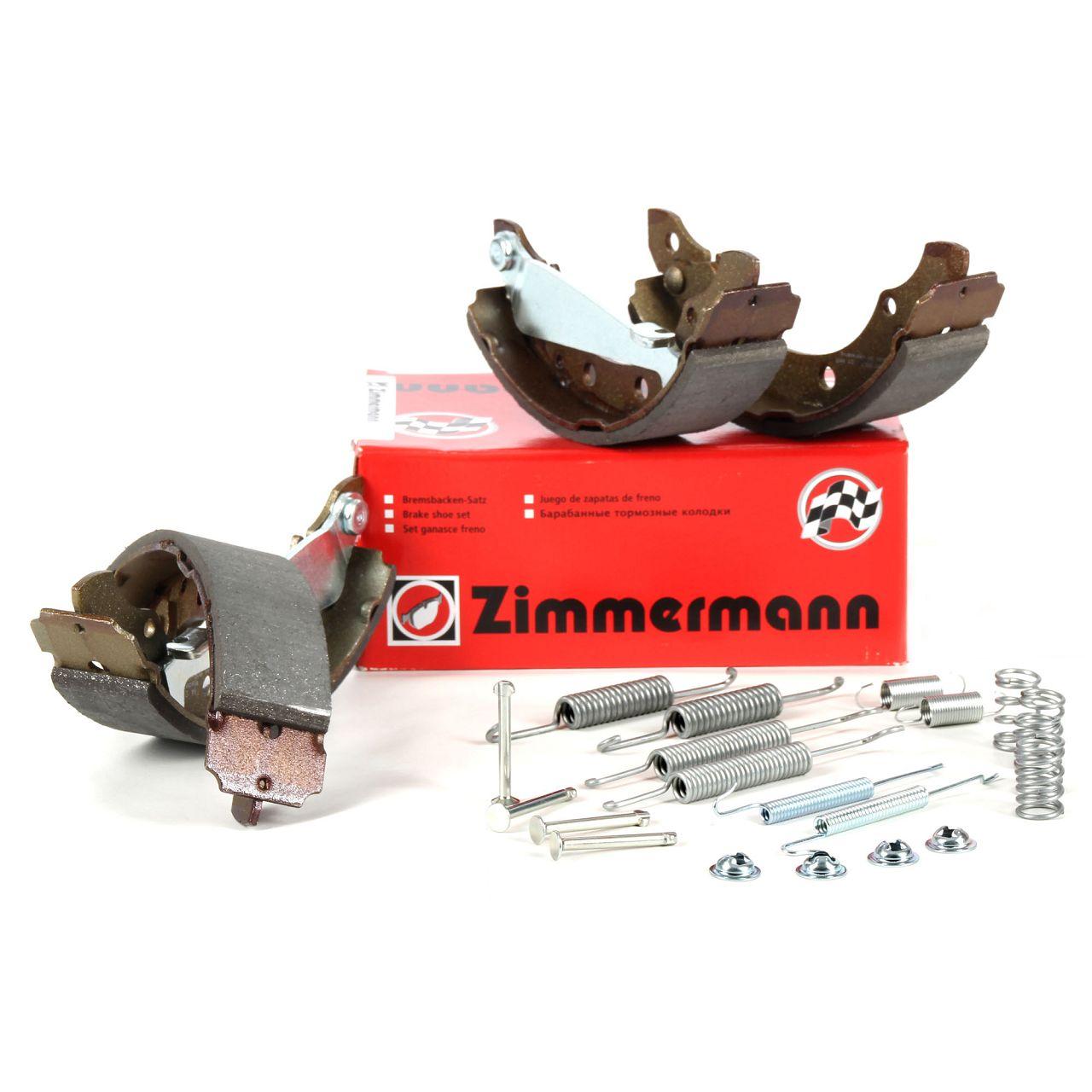 ZIMMERMANN Bremsbacken inkl. Federn für Audi 80 A2 VW Golf 3 Lupo Passat Polo