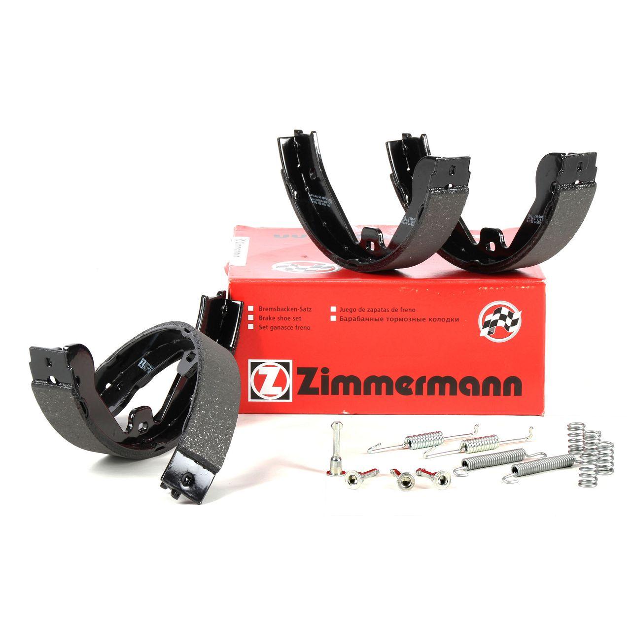 ZIMMERMANN Bremsbacken + Federn Satz AUDI Q7 MERCEDES X164 W164 VW Touareg