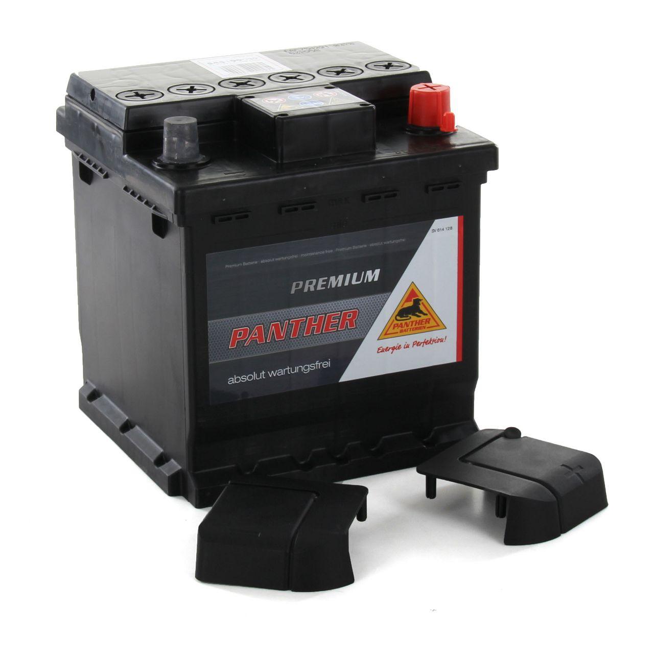 PANTHER Autobatterie Batterie Starterbatterie POWER BLOCK 12V 45Ah 390A