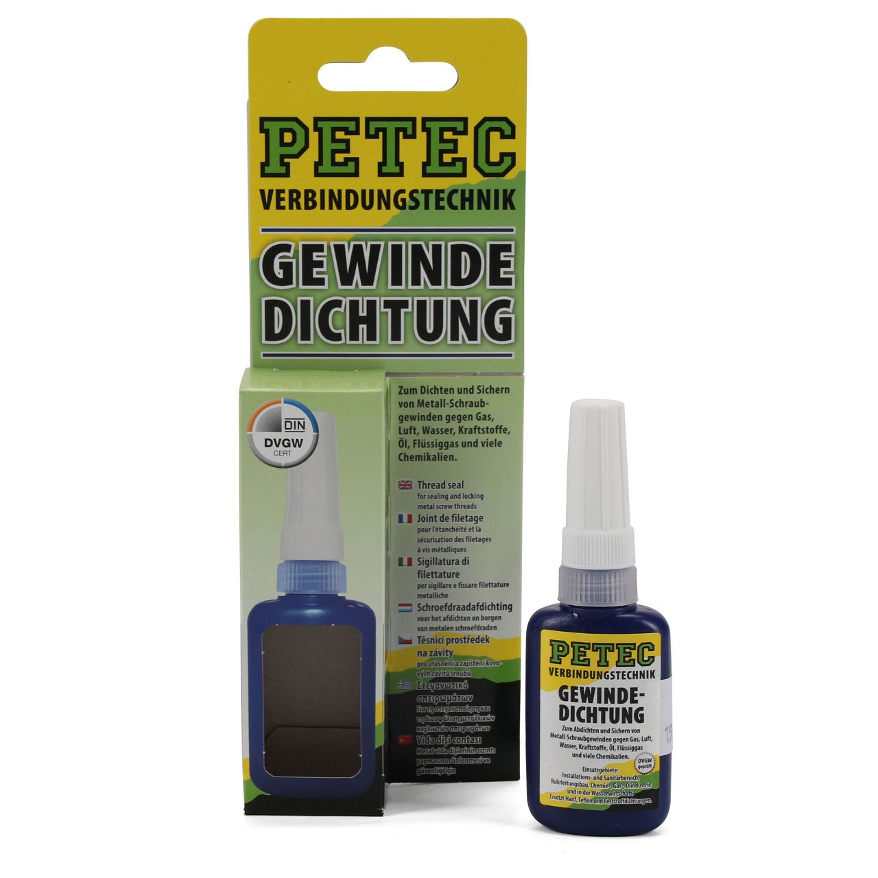 PETEC 97216 Gewindedichtung Gewindedichtstoff Dichtung Dichtmaterial 15g