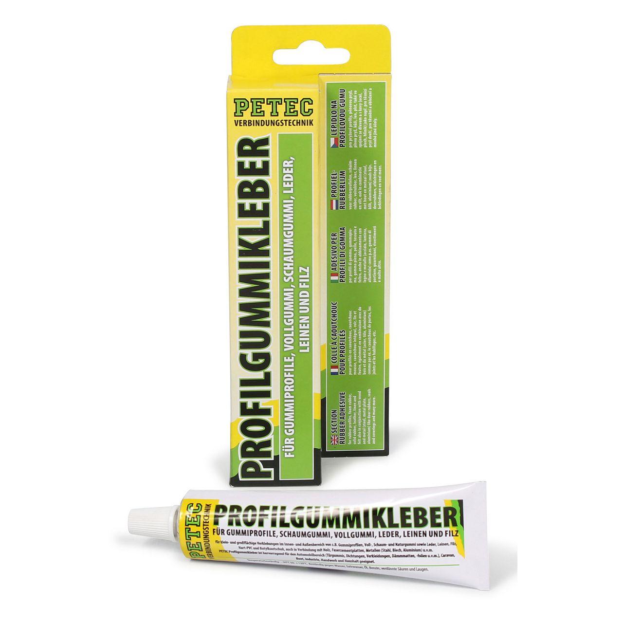 PETEC 93870 Profilgummikleber Gummiklebstoff Kleber Klebstoff 70ml
