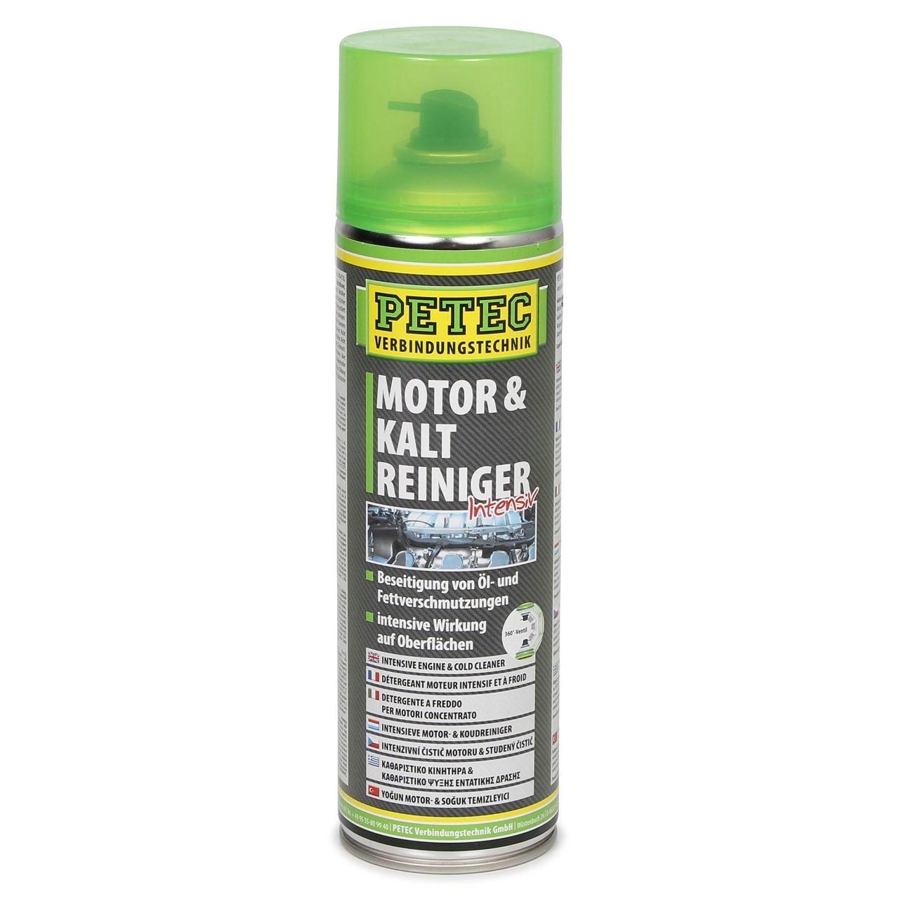 PETEC 71850 Kaltreiniger Motorreiniger Intensivreiniger Reiniger Spray 500 ml