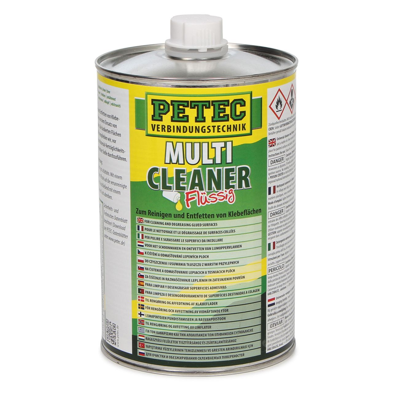 PETEC 82100 Kaltreiniger Multi Cleaner Reiniger flüssig 1000ml TRANSPARENT