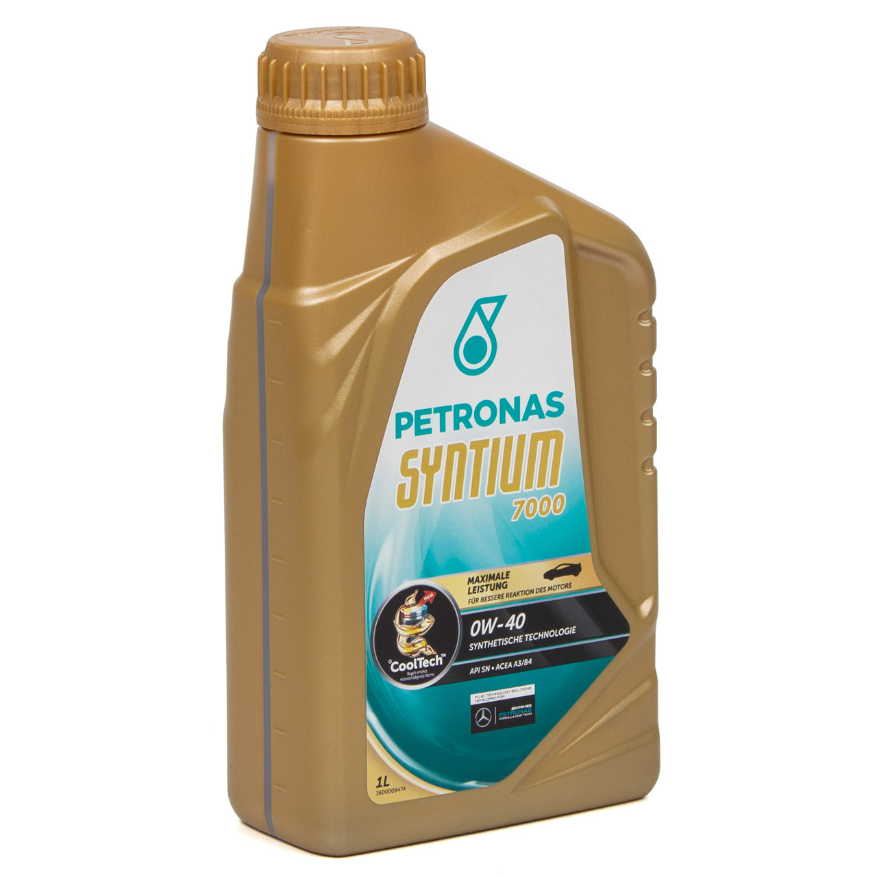 PETRONAS SYNTIUM 7000 Motoröl Öl 0W-40 0W40 MB 229.5 VW 502/505.00 - 1L 1 Liter
