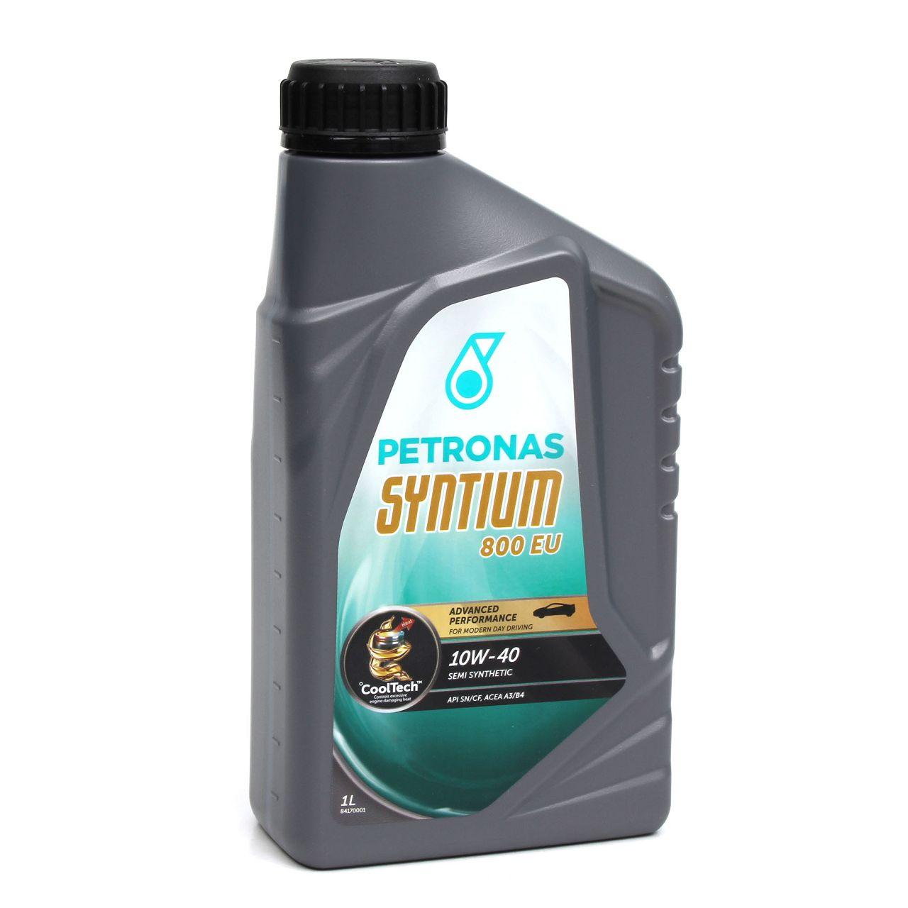 3L PETRONAS Syntium 800 EU Motoröl Öl 10W40 MB 229.1 ACEA A3/B4 API SN/CF