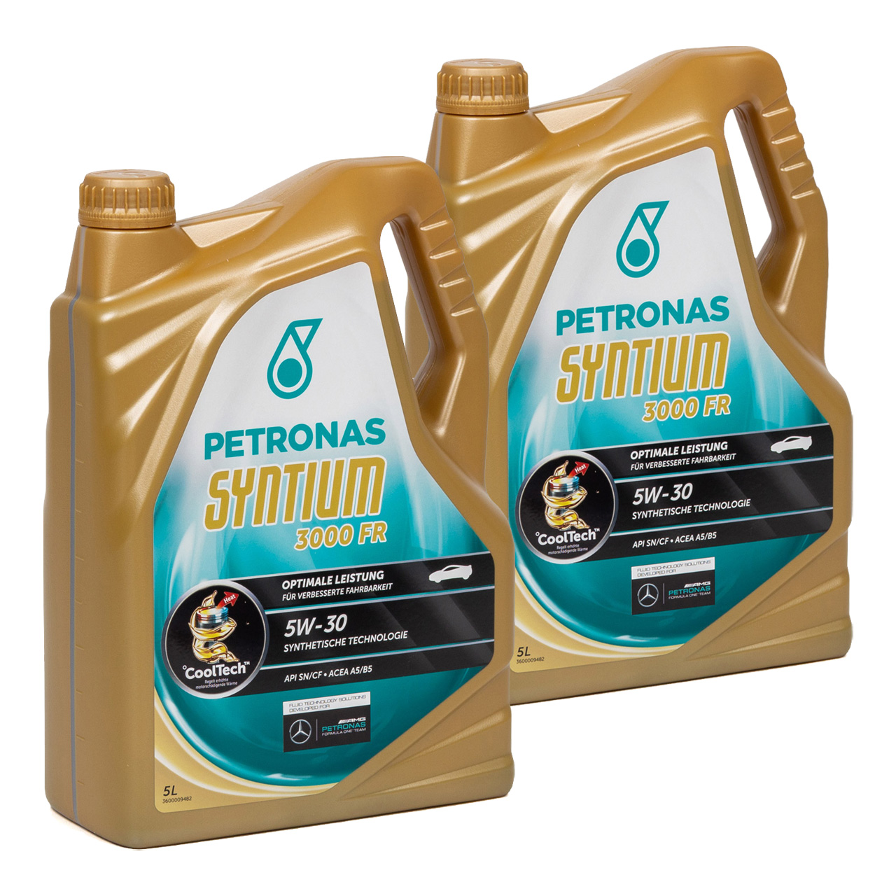 PETRONAS SYNTIUM 3000 FR Motoröl Öl 5W30 RN0700 FORD WSS-M2C913-C/D - 10 Liter