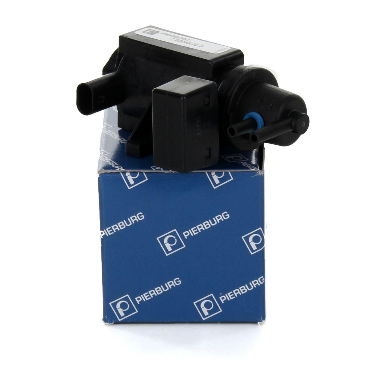 PIERBURG Druckwandler Magnetventil für BMW E81-88 E90 E91 E92 E93 E60 E61 X3 E83