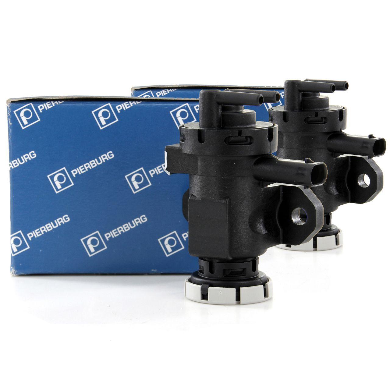 2x PIERBURG 7.02256.27.0 Druckwandler Magnetventil Turbolader für BMW E81 E92