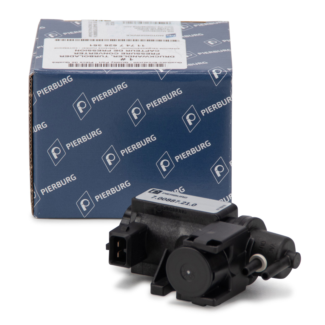 PIERBURG 7.00887.21.0 Druckwandler Magnetventil Turbolader BMW 1er F20 F21 11747626351