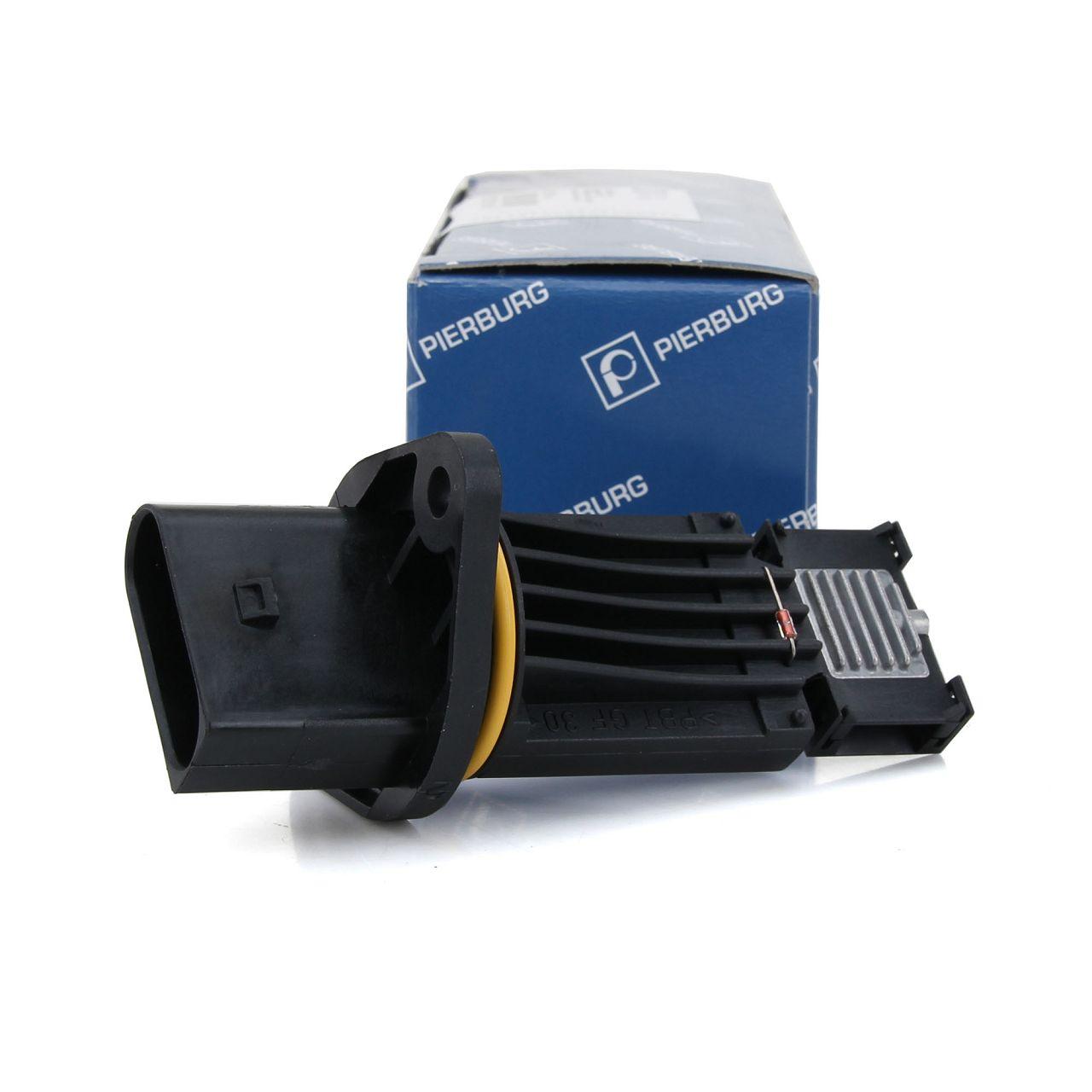 PIERBURG Luftmassenmesser Luftmengenmesser LMM Sensor für Audi Seat Skoda VW
