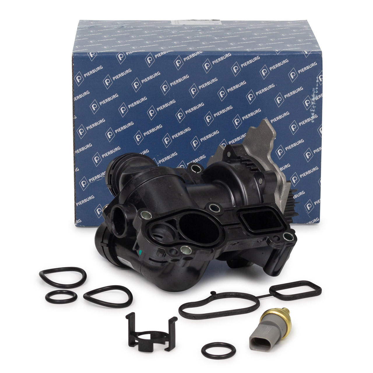 PIERBURG Wasserpumpe Thermostat Dichtung AUDI A3 8P SKODA VW Golf 5 6 2.0 GTI 06J121026BG