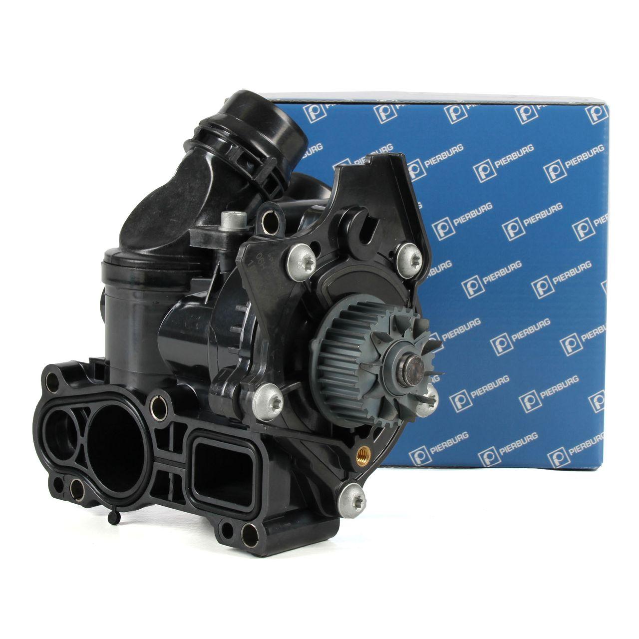 PIERBURG Kühl- Wasserpumpe + Thermostat für AUDI SEAT SKODA VW 1.8 TFSI 2.0 TFSI