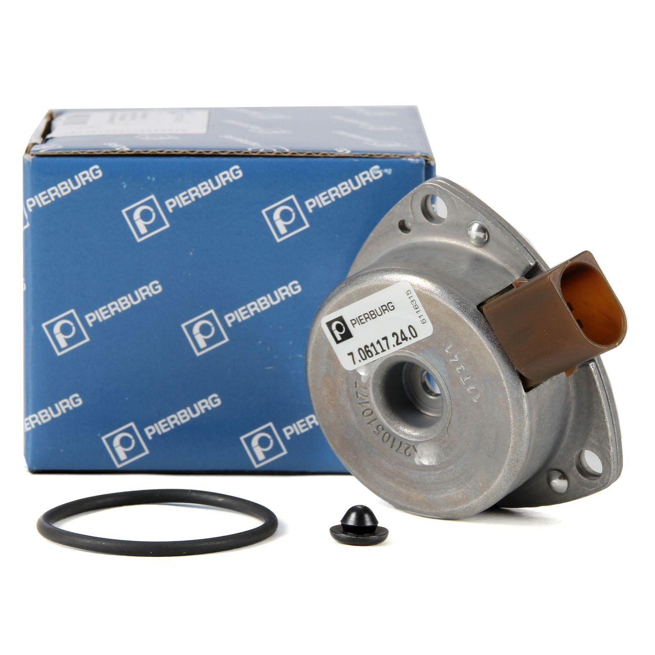 PIERBURG 7.06117.24.0 Zentralmagnet Nockenwellenversteller OM271 für MERCEDES