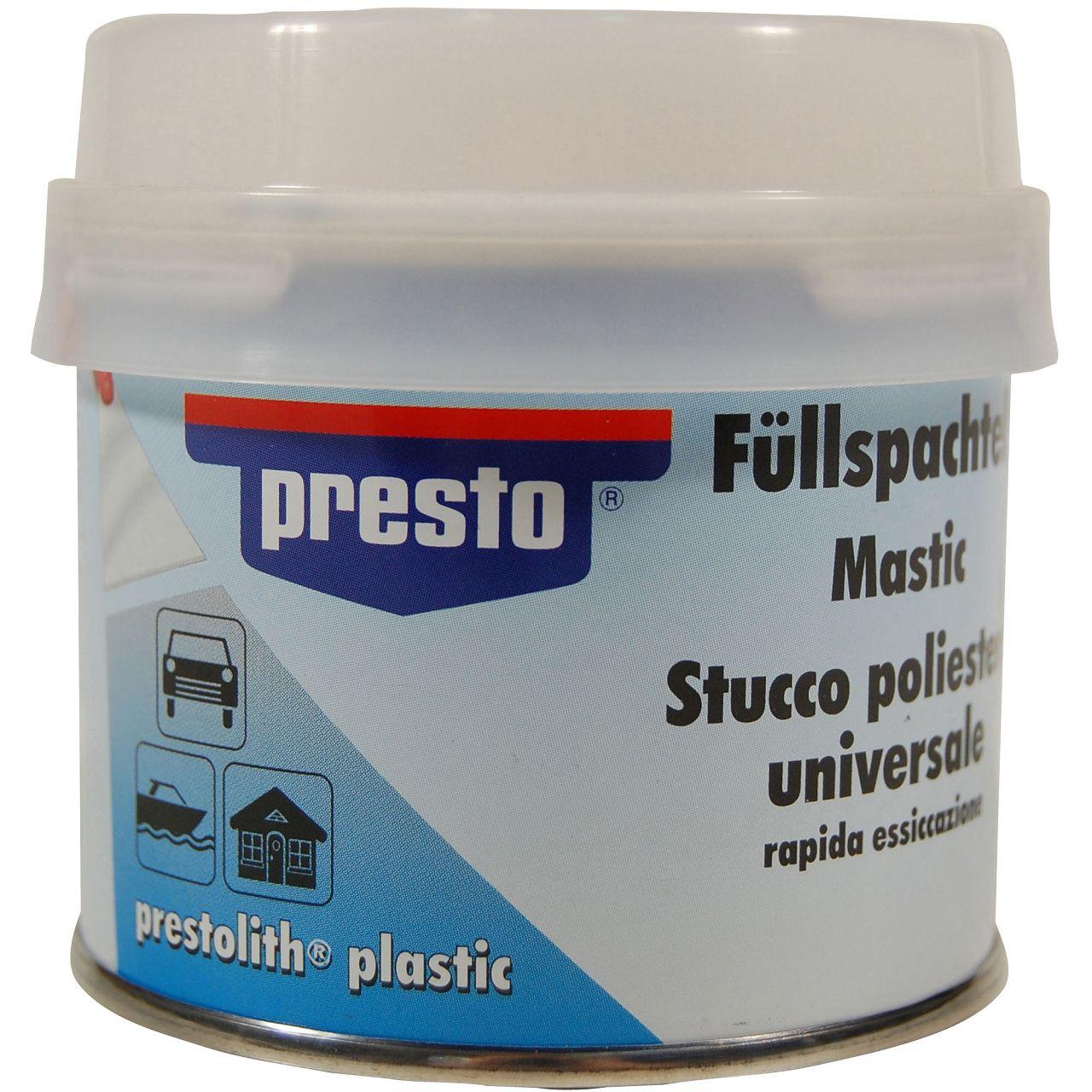 PRESTO Metallspachtel Universalspachtel Füllspachtel 250g