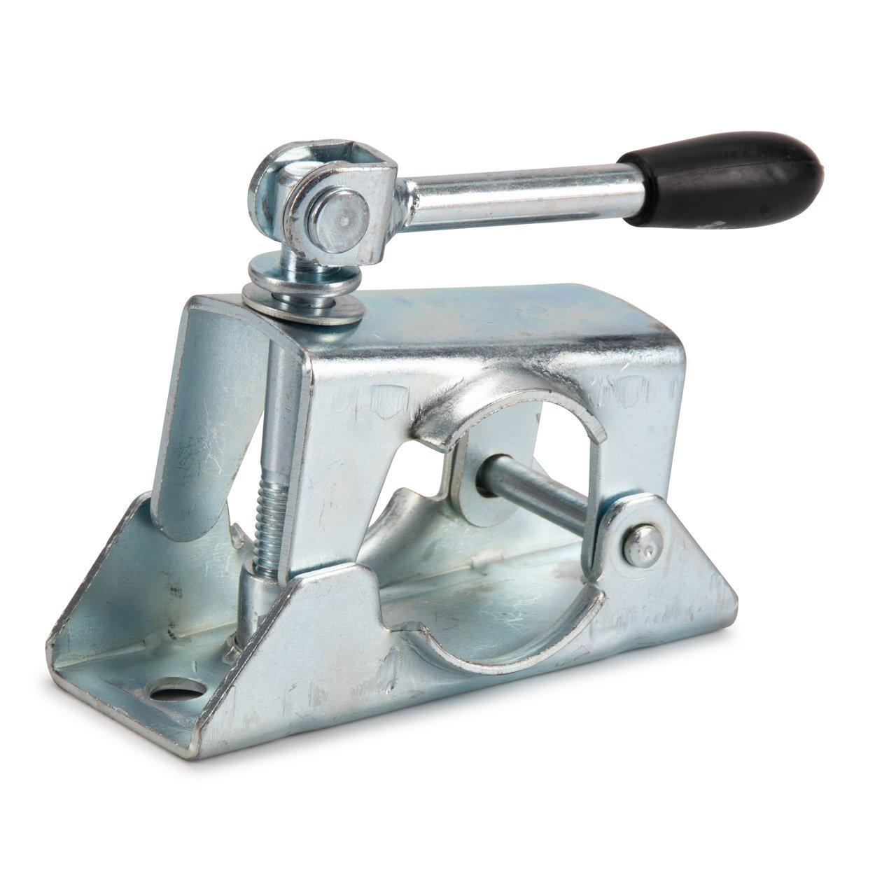 PROPLUS Klemmschelle 48mm Verzinkter Stahl mit Klappknebel für Stützrad Anhänger