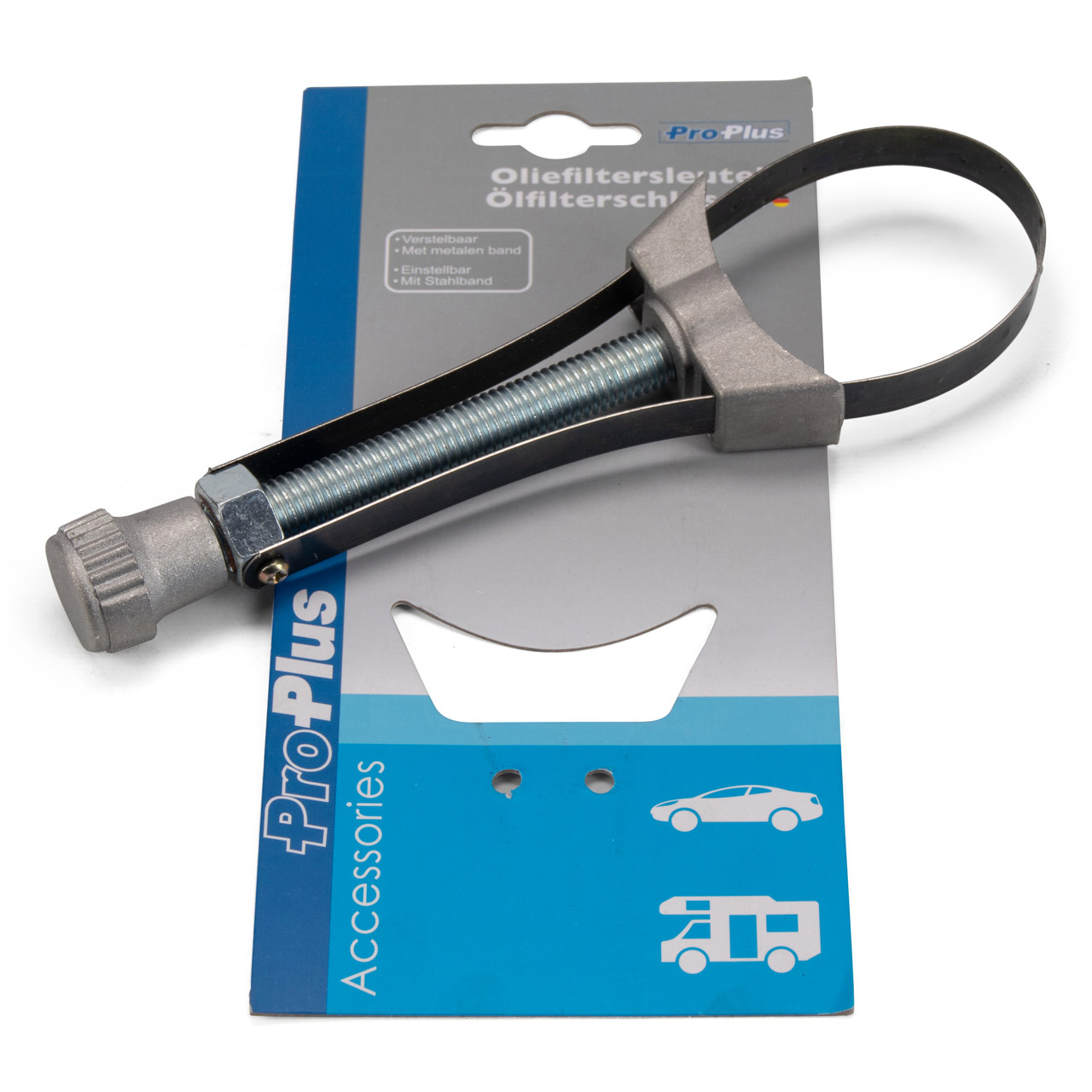 PROPLUS Universal Ölfilterband Ölfilterschlüssel einstellbar mit Stahlband