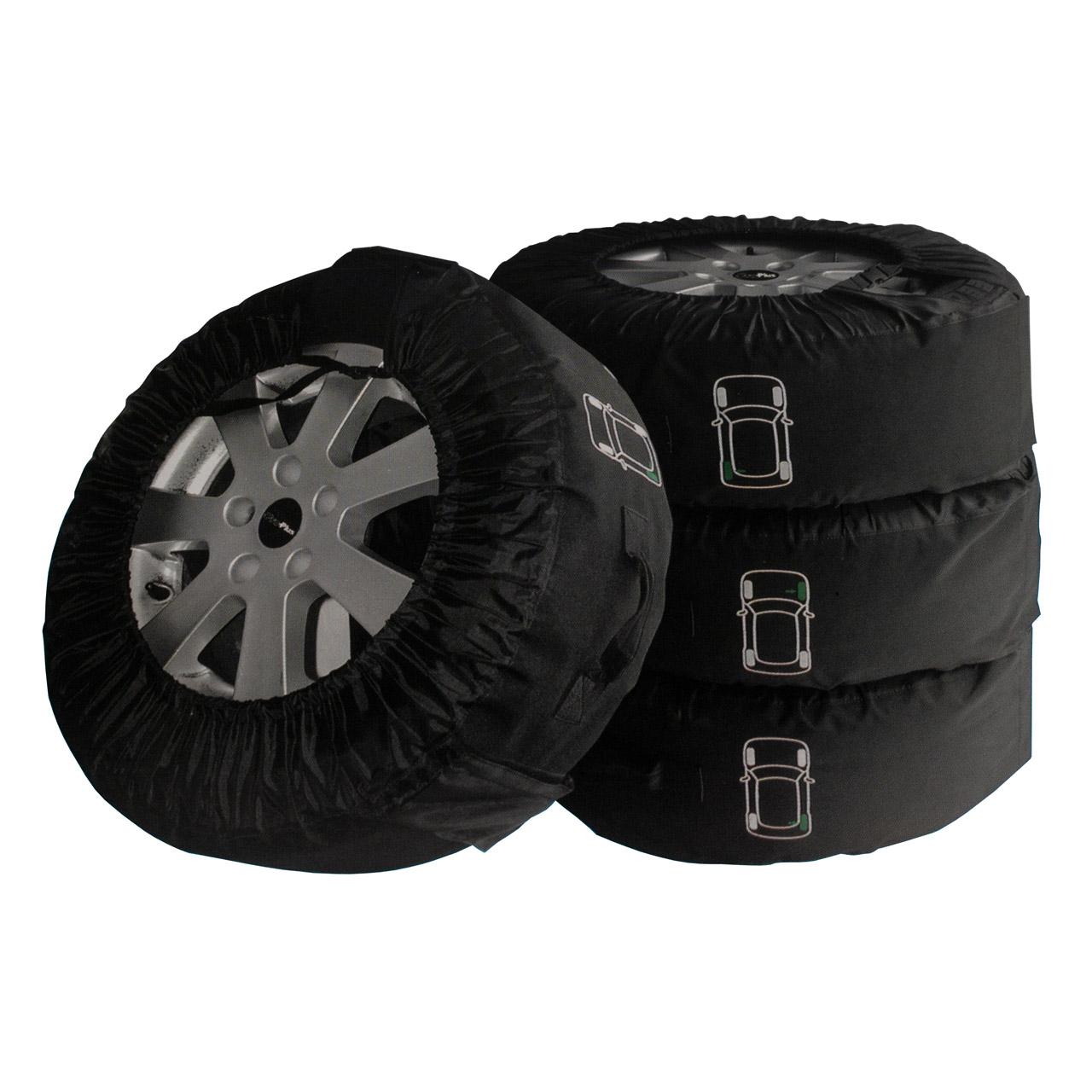 "PROPLUS Reifenhüllen Reifentaschen PROFI Set 4 Stück Set 13""-18"" bis 280mm"