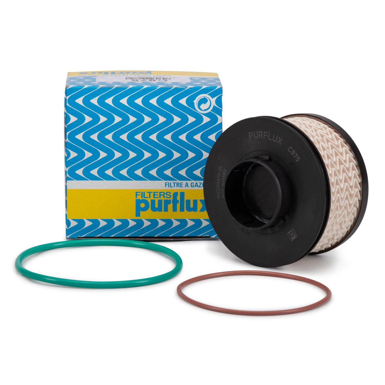 PURFLUX Kraftstofffilter Dieselfilter CITROEN C3 III PEUGEOT 208 308 II 1.5 HDi 9820226380