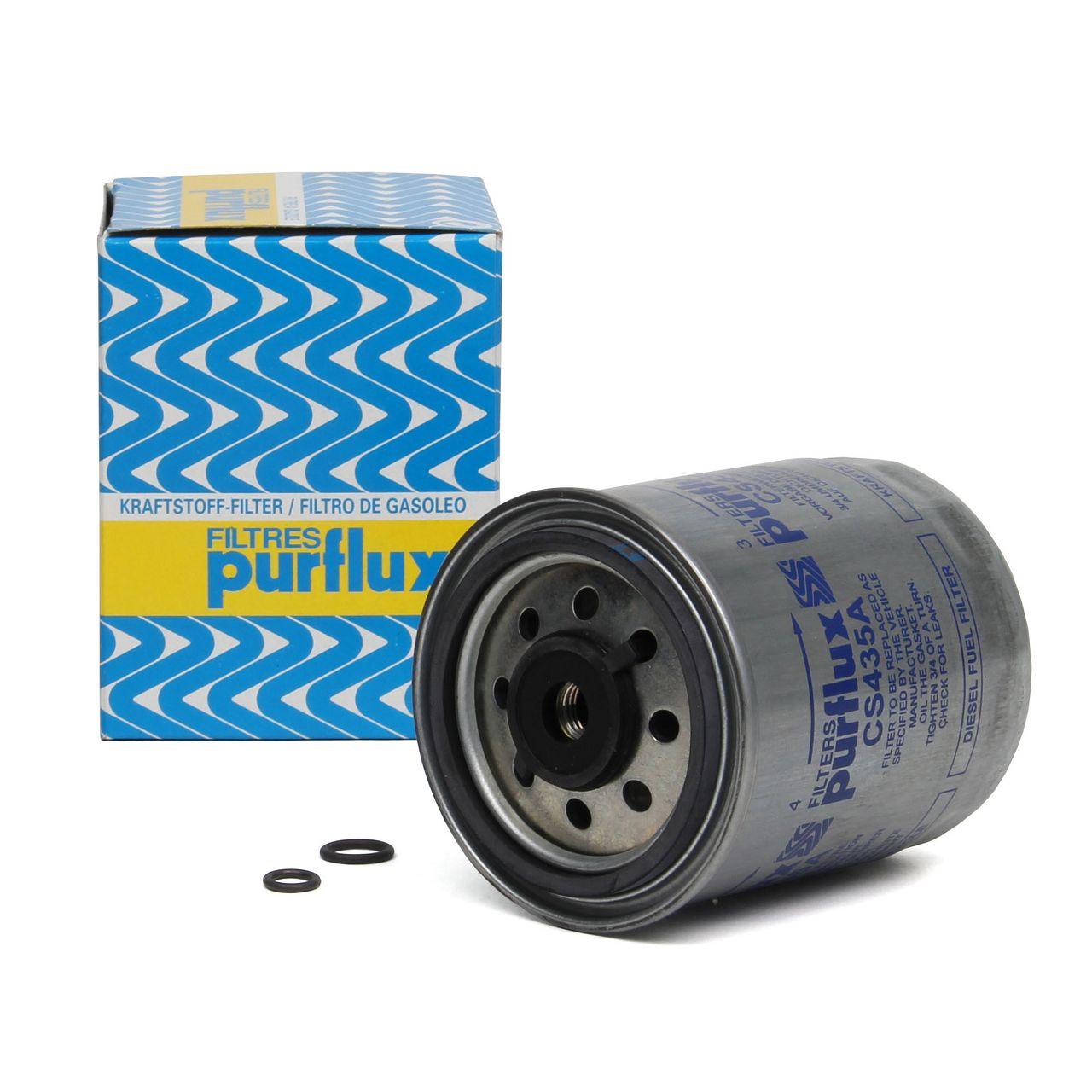 PURFLUX Kraftstofffilter Dieselfilter für Mercedes 190 W201 W202 W124 W210 W463