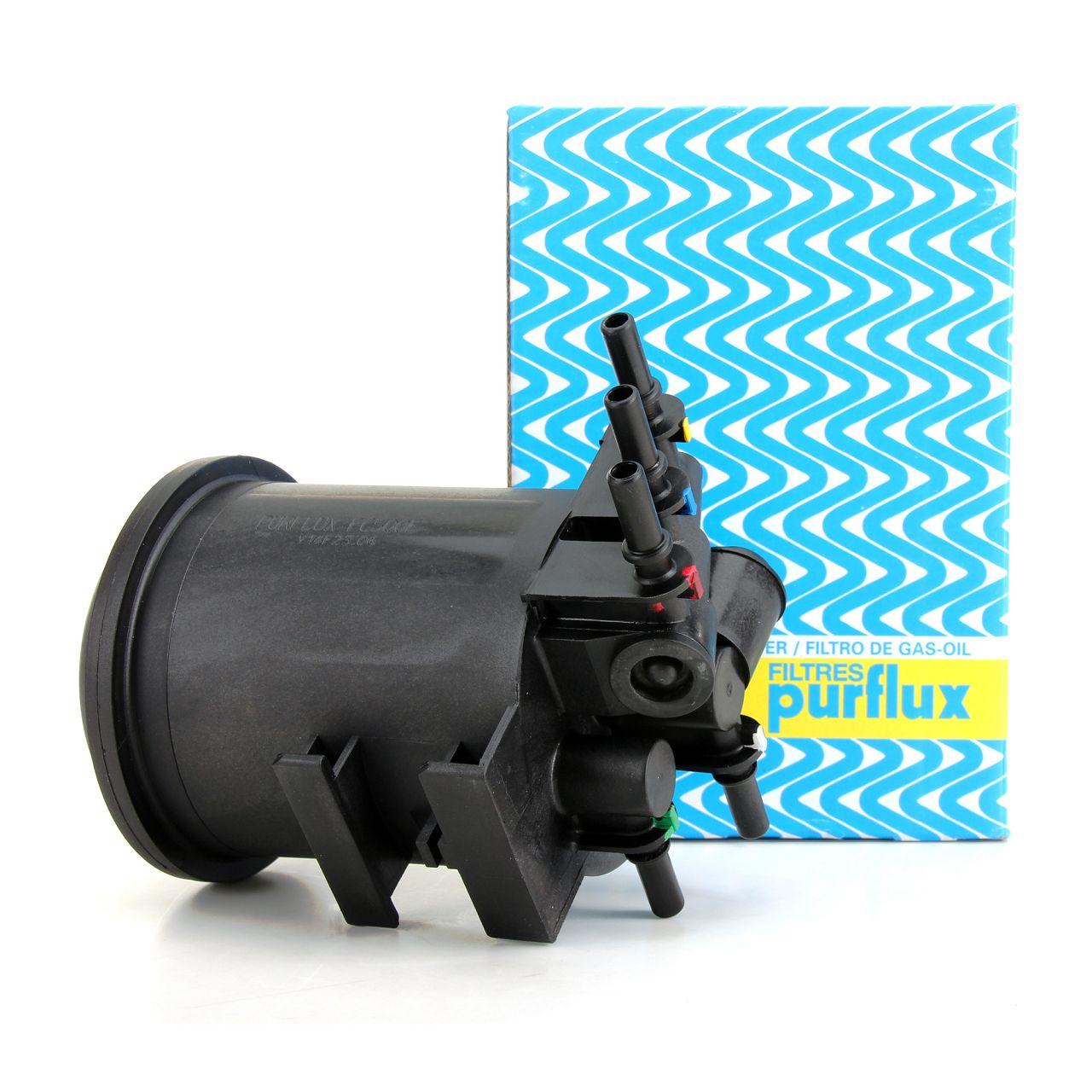 PURFLUX Kraftstofffilter Dieselfilter für Renault Kangoo Megane Scenic 1.9 dCi
