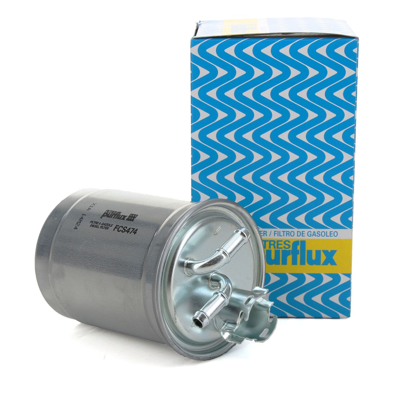 PURFLUX Kraftstofffilter Dieselfilter für Seat Cordoba Ibiza VW Caddy Polo 1.9D