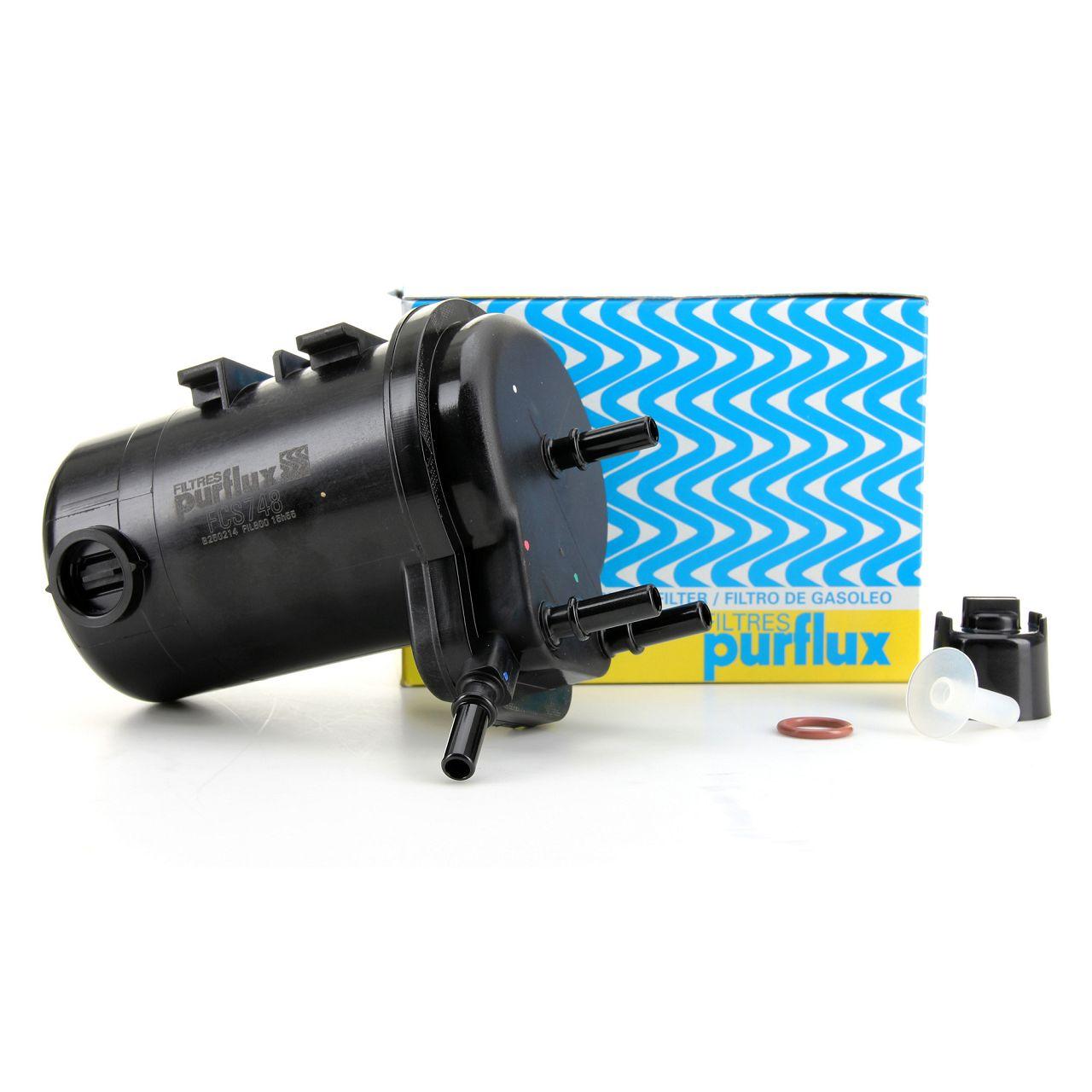 PURFLUX Dieselfilter für Renault Clio II Kangoo Nissan Almera 2 Micra 1.5dCi