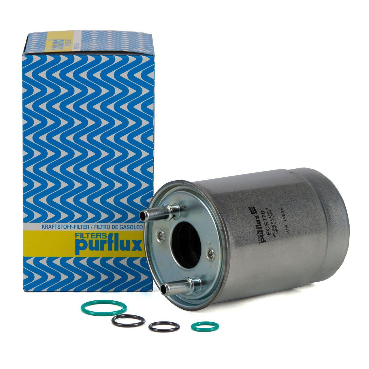 PURFLUX Kraftstofffilter Dieselfilter für RENAULT GRAND SCENIC MEGANE 3 1.5 dCi