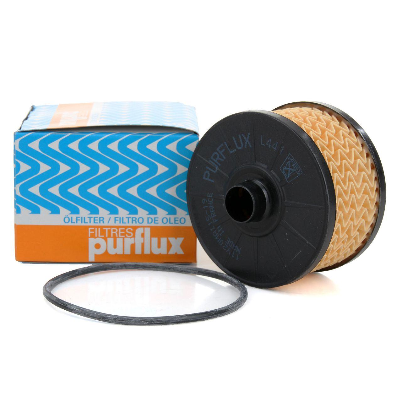 PURFLUX L441 Ölfilter + Dichtung DACIA MERCEDES-BENZ NISSAN RENAULT 0.9-1.4