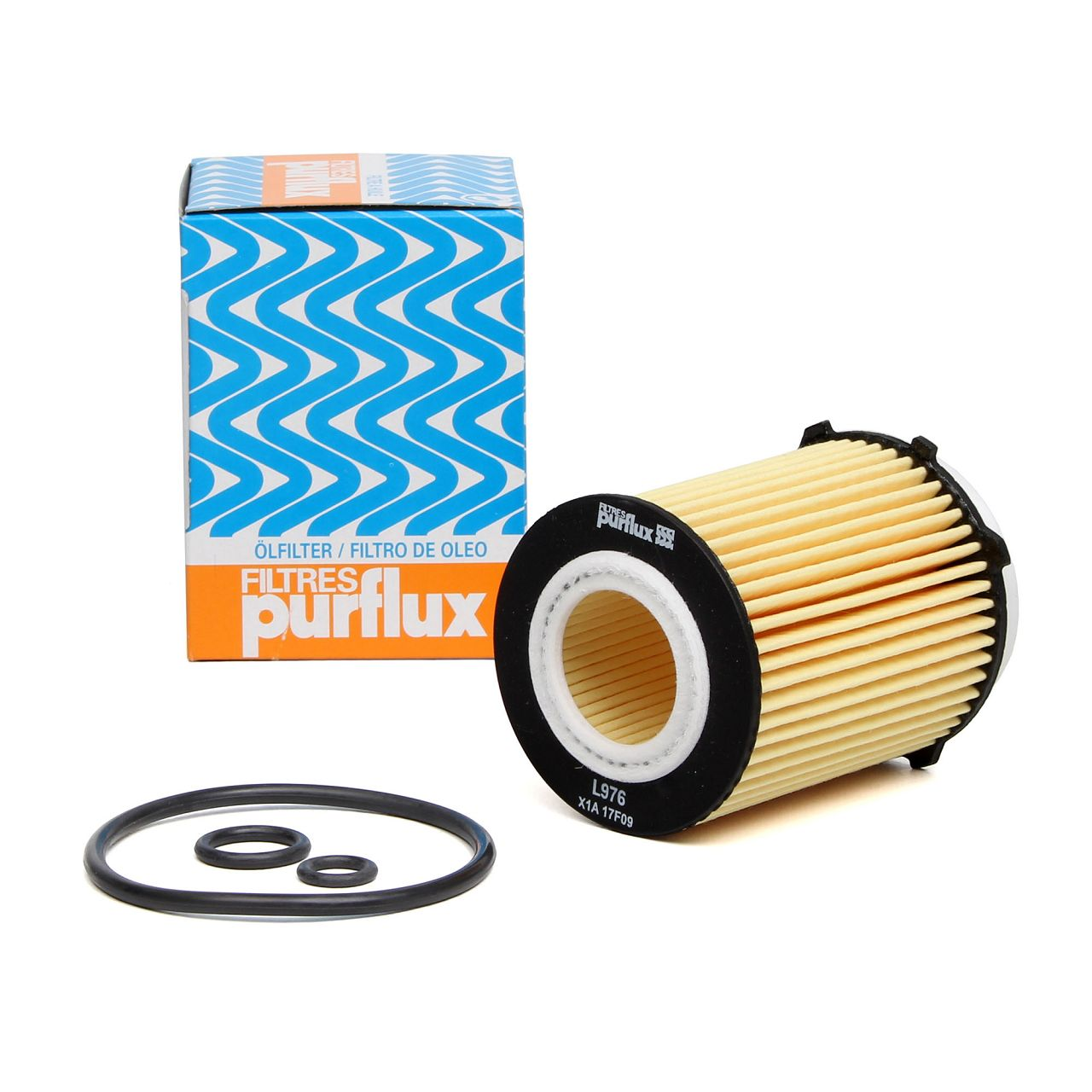 PURFLUX Ölfilter L976 für Mercedes W176 W246 W204 W205 C117 W212 X156 X204
