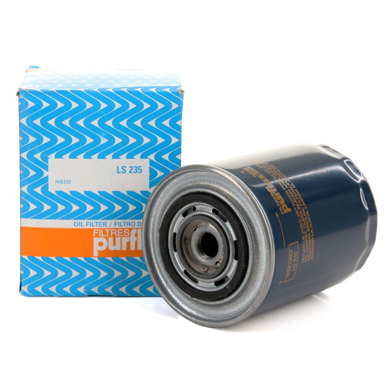 PURFLUX LS235 Ölfilter ALFA ROMEO CITROEN FIAT IVECO LANCIA OPEL PEUGEOT RENAULT