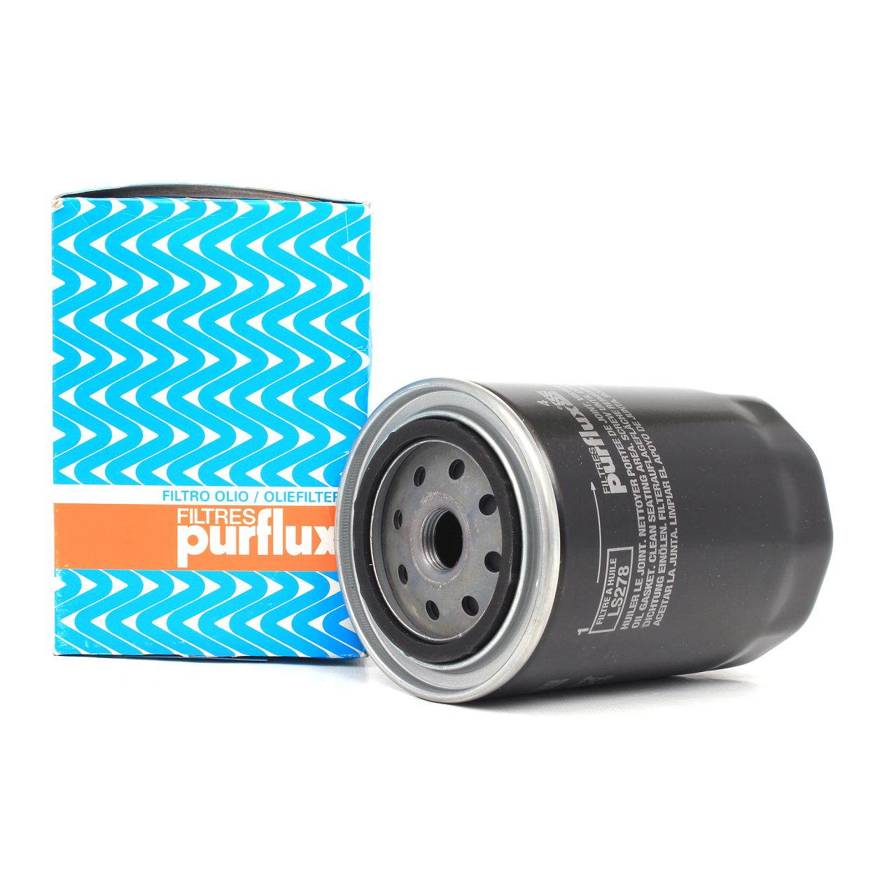 PURFLUX Ölfilter Motorölfilter für Audi A4 A6 Cabrio VW Passat 1.9TDI LS278