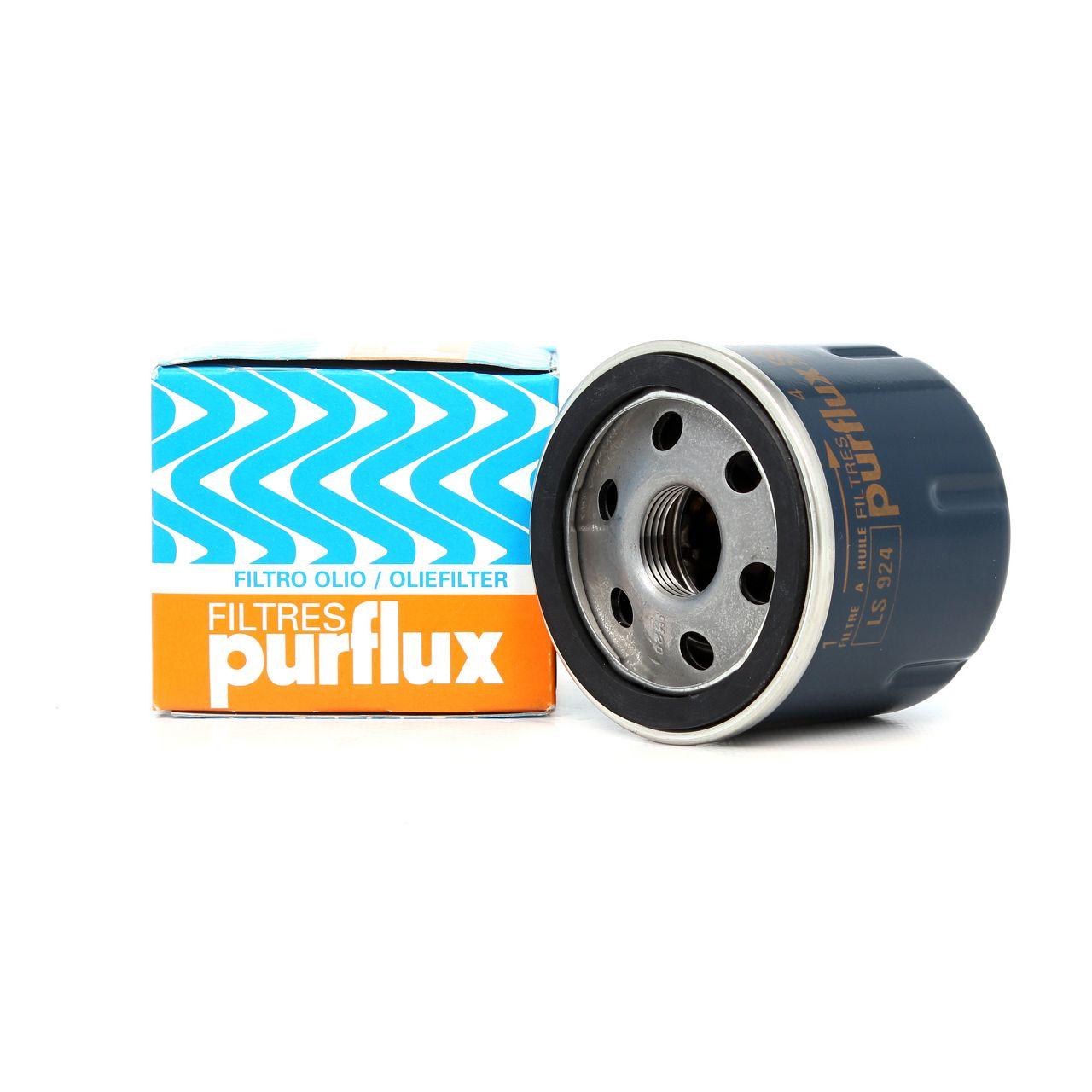 PURFLUX Ölfilter LS924 für RENAULT CLIO / KANGOO / TWINGO / MODUS 1.2 / 1.2 16V