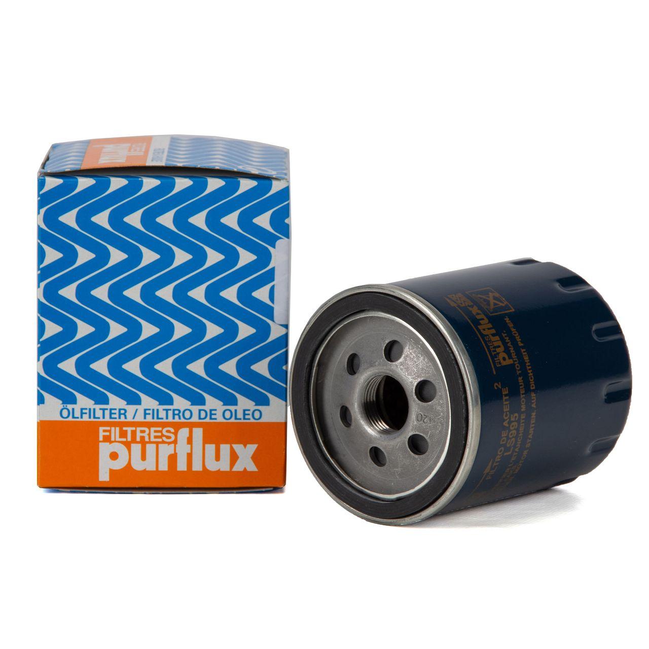 PURFLUX LS995 Ölfilter CITROEN Jumpy Jumper PEUGEOT 508 Boxer Expert 2.0-2.2 BlueHDi